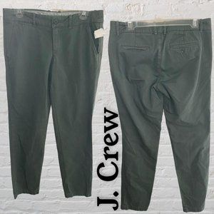GUC J. Crew Waverly Chino, City Fit in Green (4)